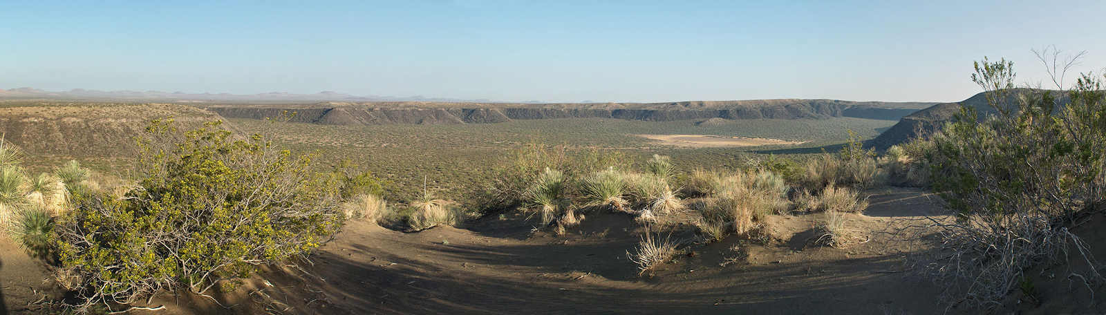 Kilbourne Hole Volcanic Crater