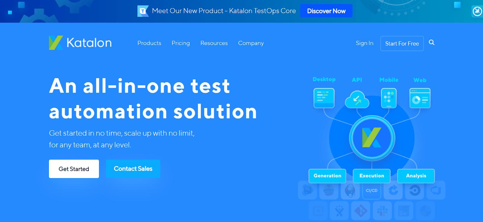 Katalon Automation Testing Tool