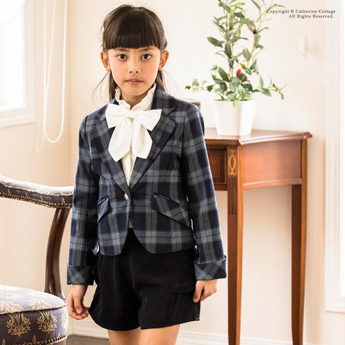 女の子 小学校入学式 ジャケットとパンツ