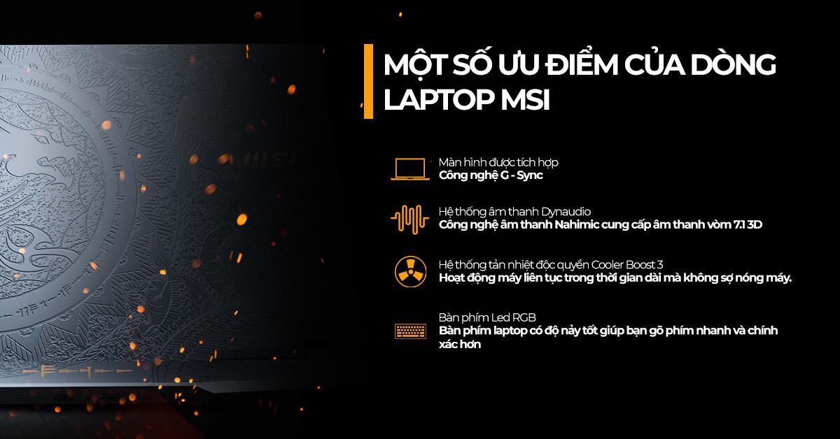 có nên mua laptop MSI không?