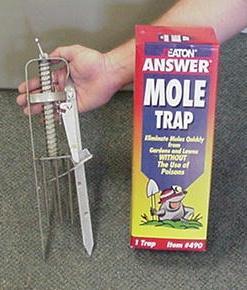 Mole Spear Trap