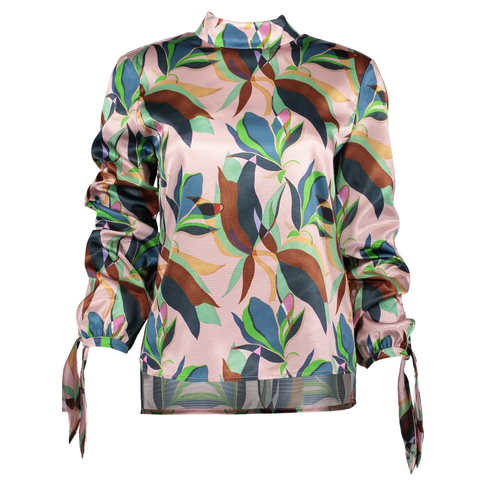 TED BAKER Corah Supernatural Pleated Cuff Top