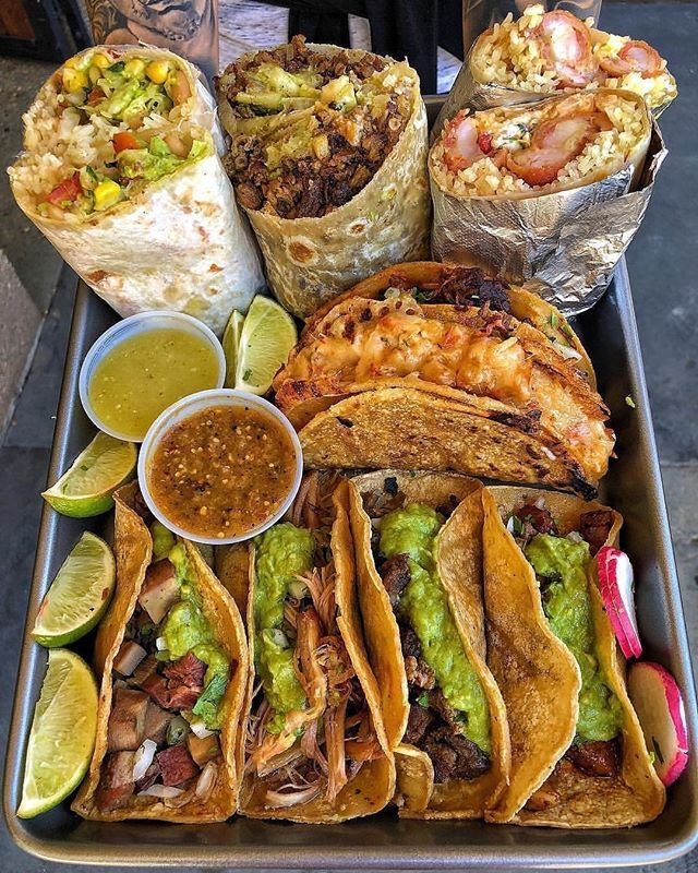 What is the Difference Between a Burrito and a Taco?