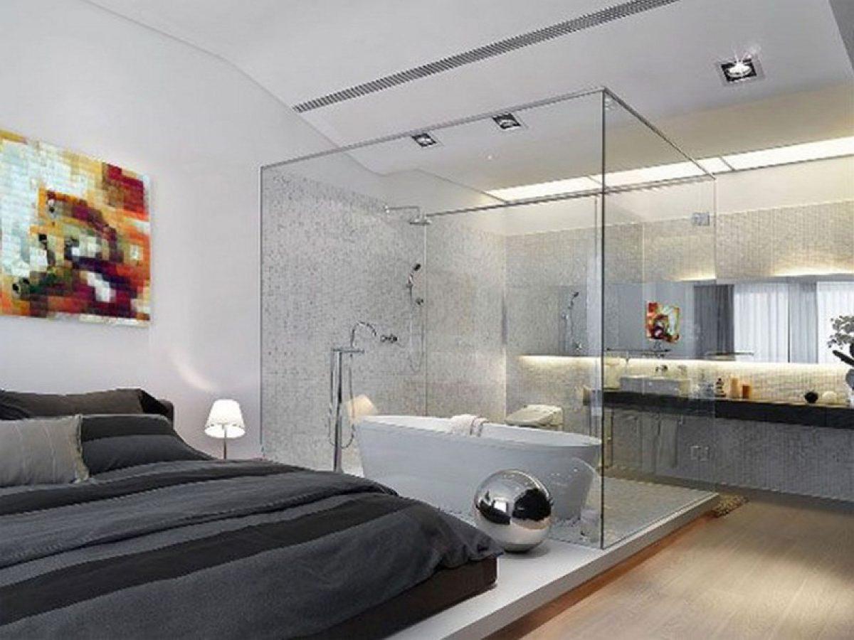 Phòng ngủ có nhà vệ sinh khép kính 3