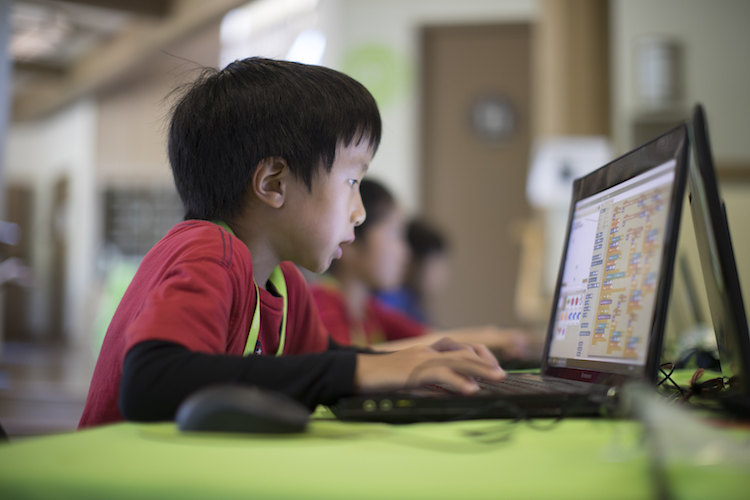 young scratch programmer