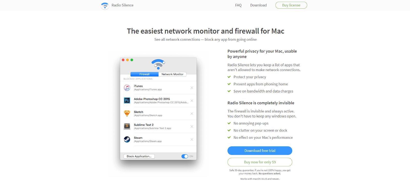 Mac Network Monitoring Software - Radio Silence