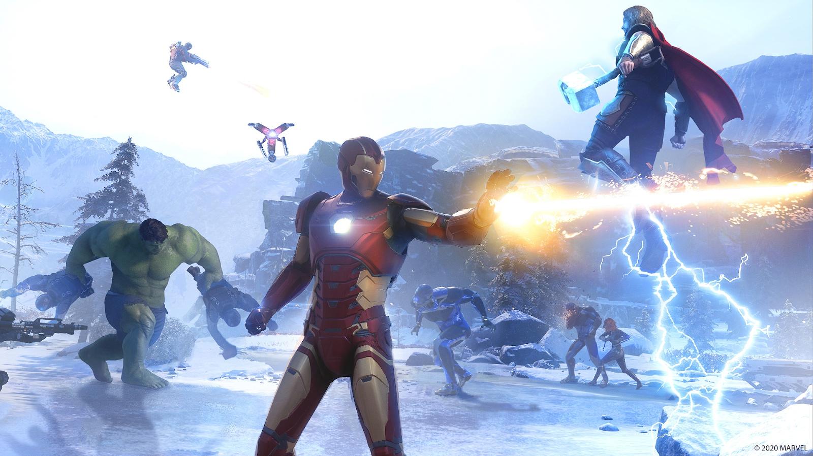 Marvel's Avengers per ora viene escluso il gioco multipiattaforma