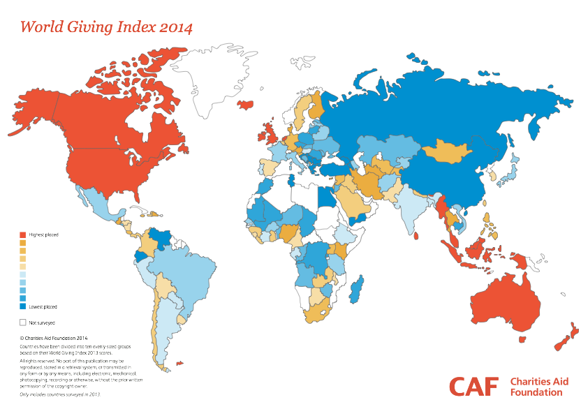 World Giving Index 2014