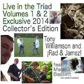 Live In The Triad Volumes 1 & 2 Exclusive 2014 Collector's Edition
