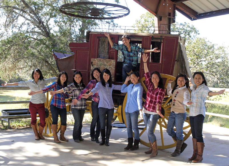 Texas Bachelorette Party at Blisswood Bed and Breakfast Ranch