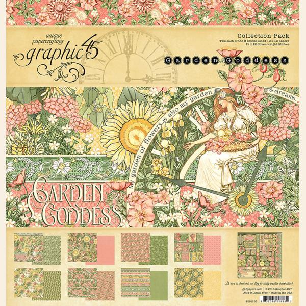 Garden Goddess 12x12 Collection Pack