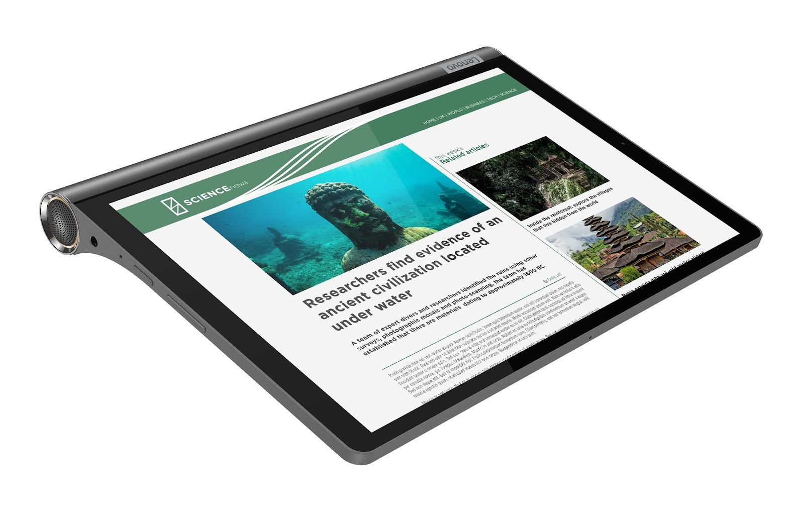 Фото 3. Планшет Yoga Smart Tab YT-X705F Iron Grey (ZA3V0019UA)