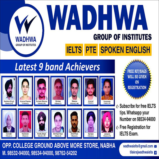 Wadhwa IELTS Centre Nabha - IELTS and Spoken English institute in Nabha