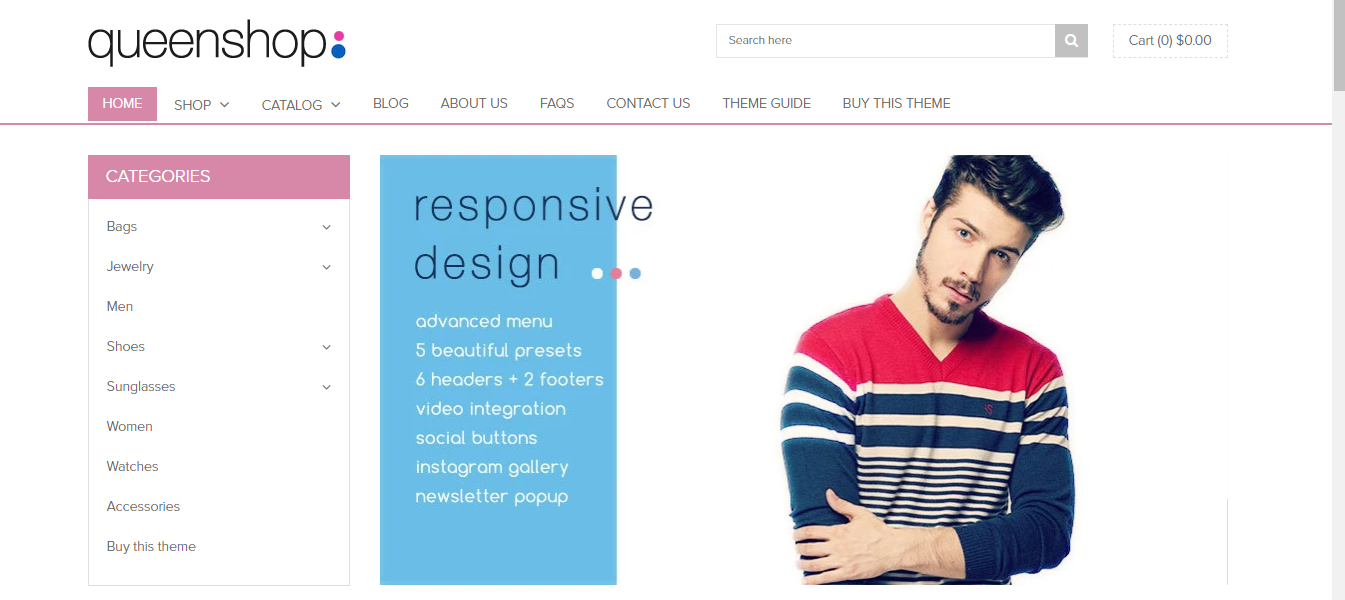 Queen - Shoes shopify theme