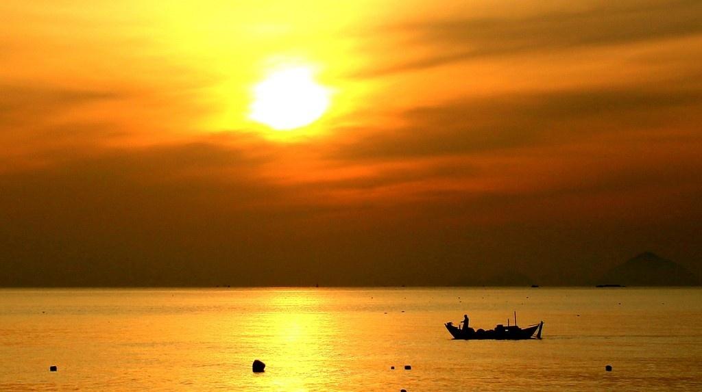 Thả hồn phiêu lãng bên bờ vịnh Ninh Vân
