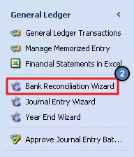 Office - General Ledger - Bank Reconciliation Wizard - CE