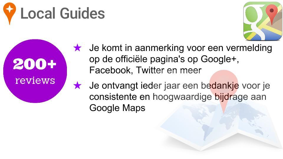 Google Lokale Gidsen Niveau 4