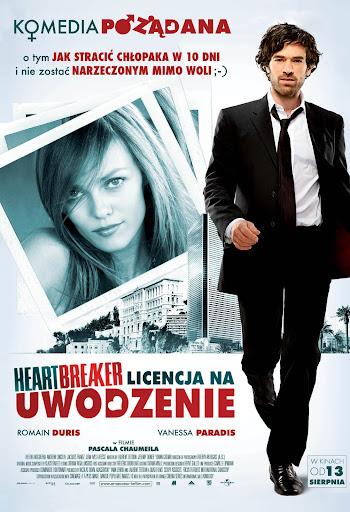 Polski plakat filmu 'Heartbreaker. Licencja Na Uwodzenie'