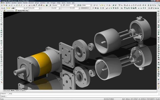 projeto sendo feito em CAD