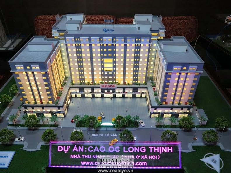 Mô hình kiến trúc REALEYE - Cao Ốc Long Thịnh
