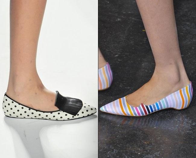 Cipele na špic proljeće 2014