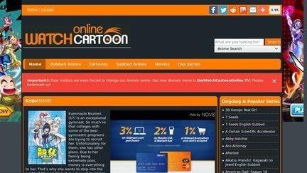 watchcartoonsonline website
