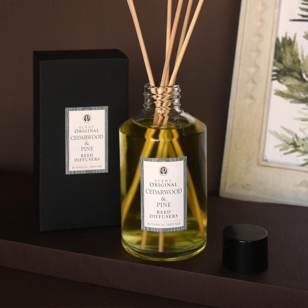 木質調 適用於居家空間的精油擴香竹