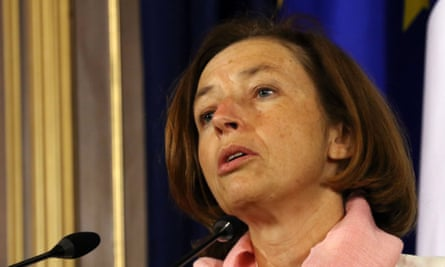 The French defence minister, Florence Parly, said the officer was facing legal proceedings.