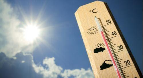 Termómetro a 45 grados Celsius