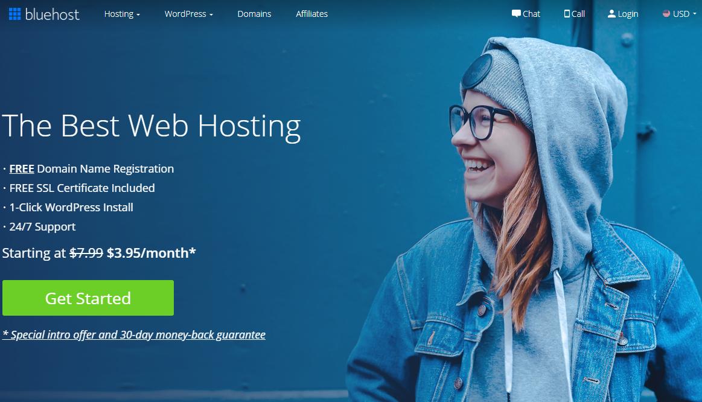 Start a Blog using Bluehost