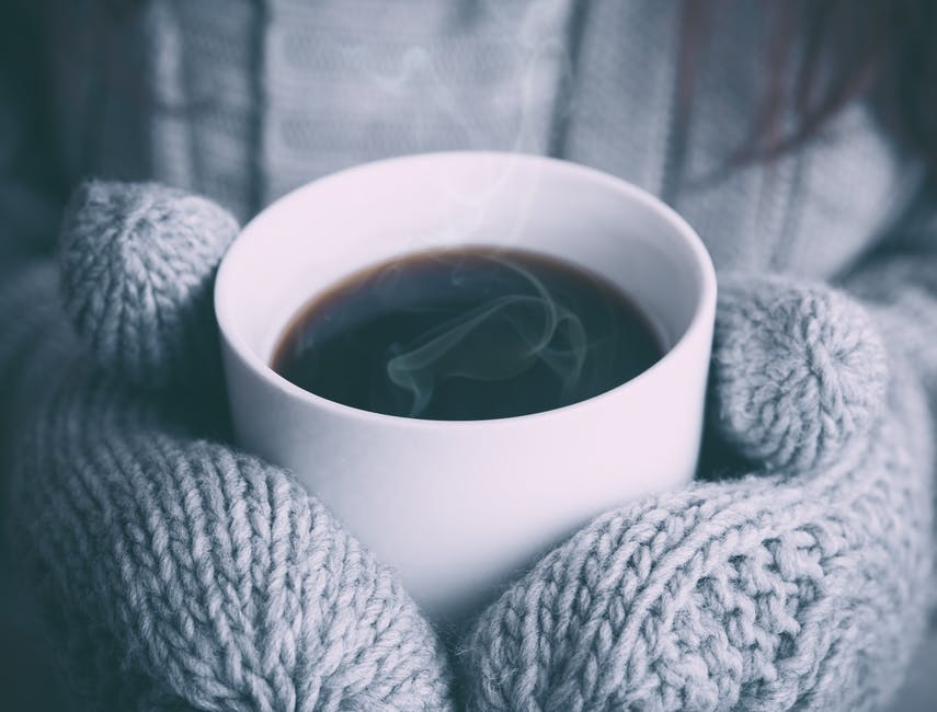 christmas, coffee, cold