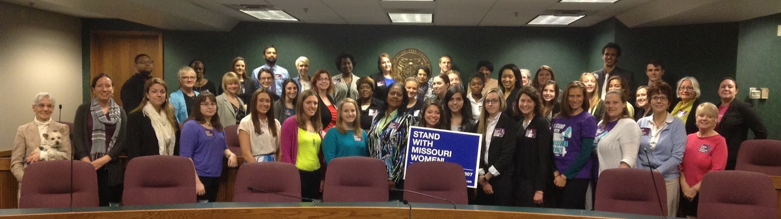 2015 Coalition Lobby Day group shot