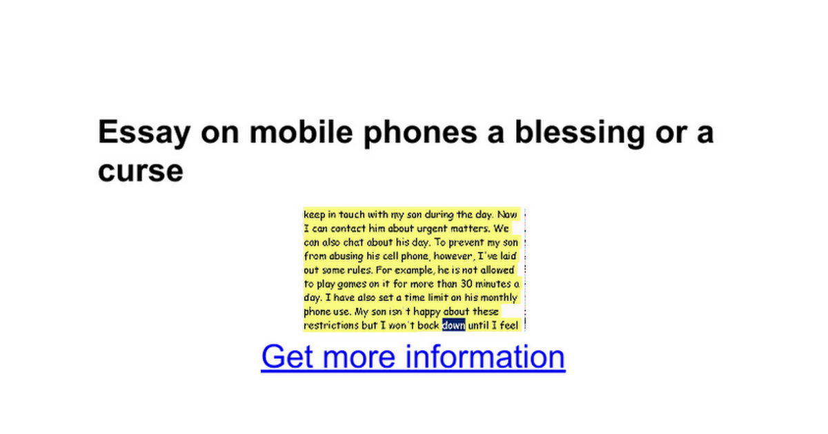 essay about cell phone argumentative essay cell phones are dangerous report web fc com argumentative essay cell phones are dangerous