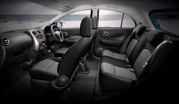 ดีไซน์ภายในรถยนต์ : Nissan March EL CVT