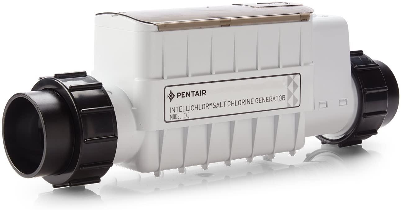 a Pentair salt chlorine generator for a pool