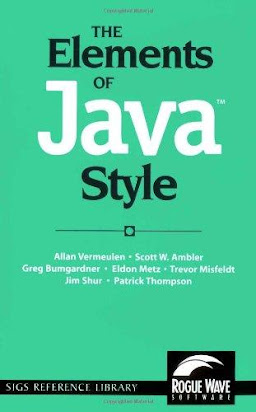 The Elements Of Java Tm Style Sigs Reference Library