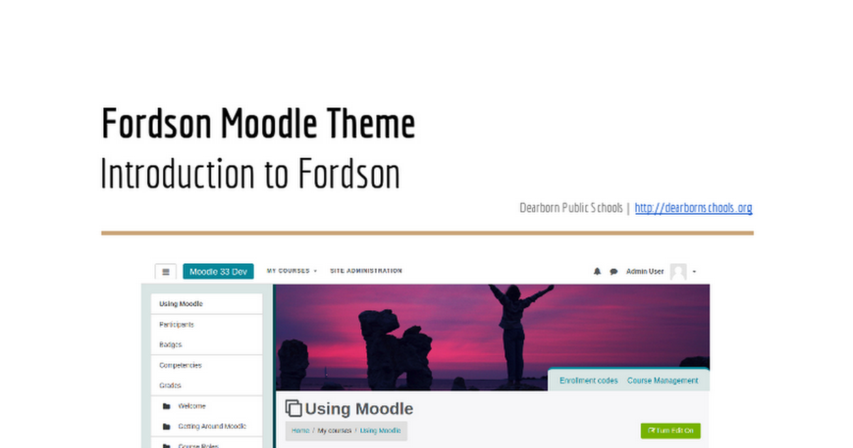 moodle instructions for teachers