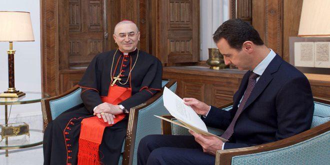 CHUYÊN MỤC: 'Xin đừng quên Syria,' Đức Hồng y Zenari lặp lại lời kêu gọi trên ZENIT