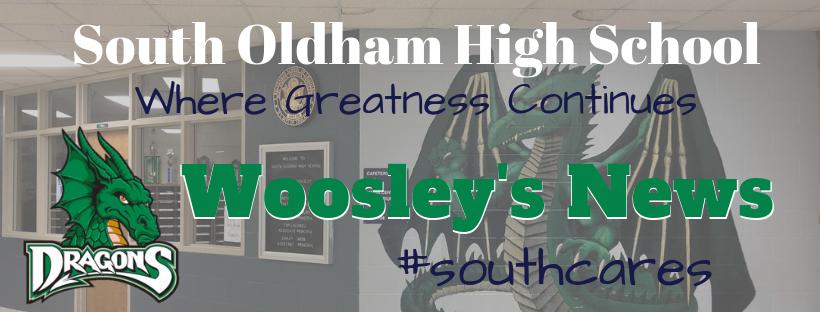 SOHS Woosley's News Banner