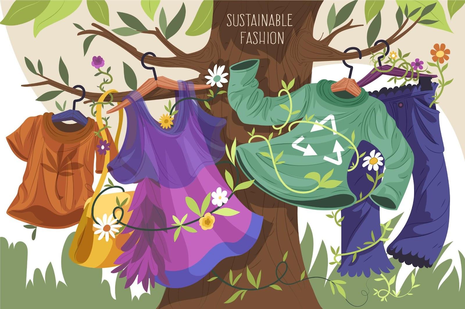 Moda sostenibile e mercato second-hand