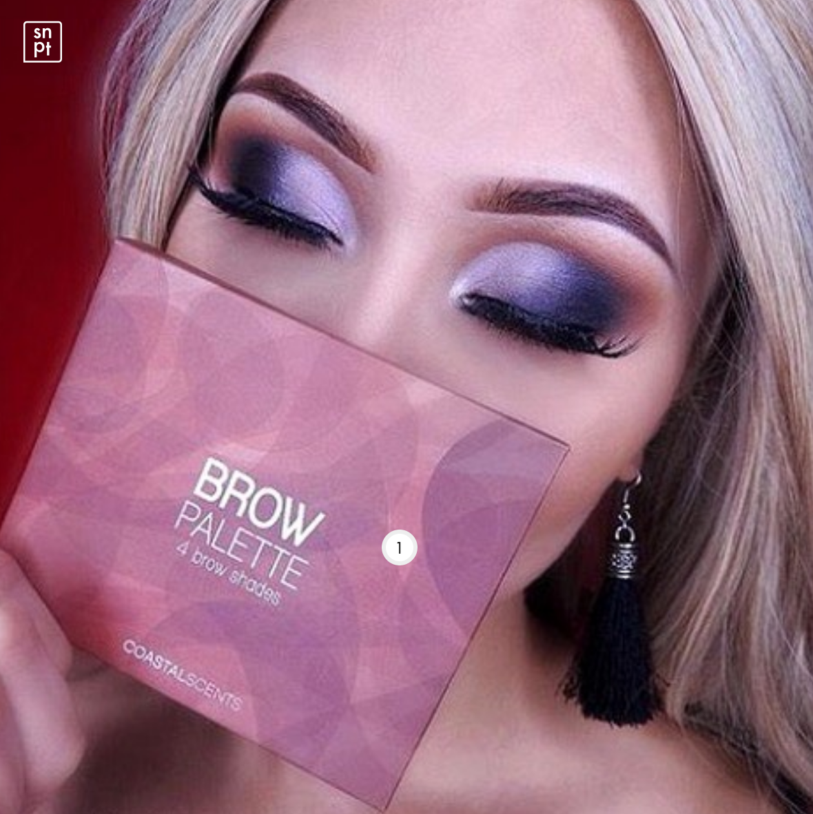 Coastal Scents - Brow Palette | Makeup & Beauty Brands Looking for Influencers