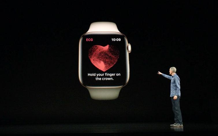 Image 1 : Apple Watch : l'appli d'électrocardiographie arrive très bientôt