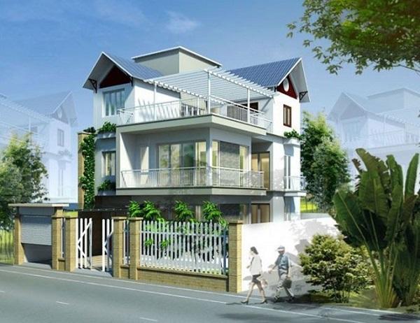 Tối giản các chi tiết, tiết kiệm chi phí khi xây dựng nhà 3 tầng hiện đại