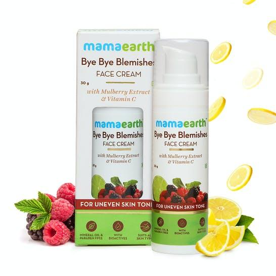Bye Bye Blemishes Face Cream for Reducing Pigmentation & Blemishes with Mulberry Extract & Vitamin C – 30ml