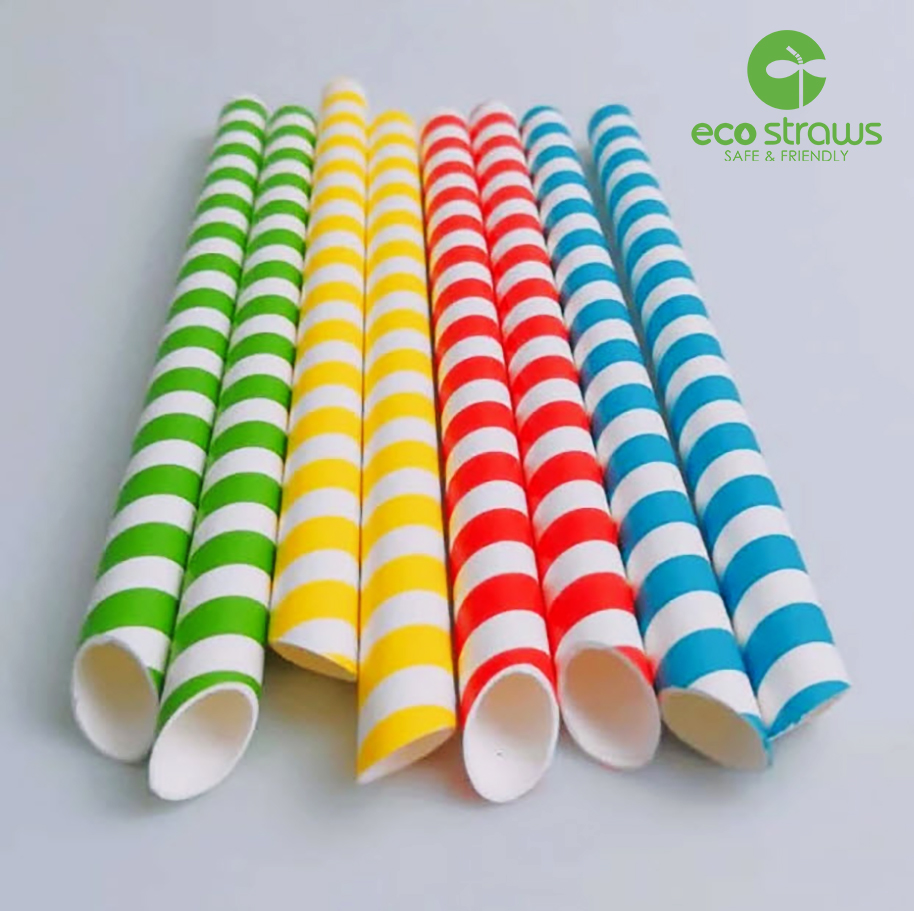 ống hút giấy eco straws