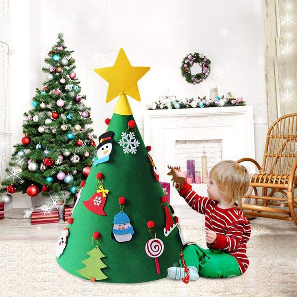 Use a toddler tree to distract