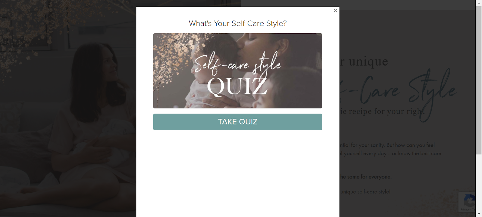 self-care style quiz cover