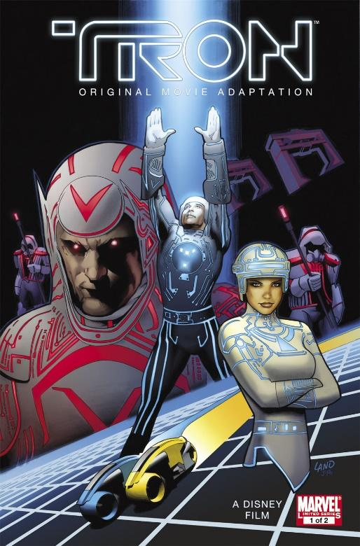 Tron: Original Movie Adaptation (2010) #1 | Comic Issues | Marvel