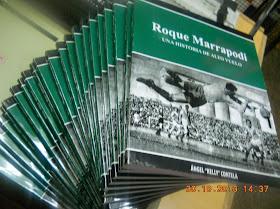 """Una historia de alto vuelo que nació de un cuadernillo con el título de """"El legendario Roque marrapodi, un arquero que volaba"""""""