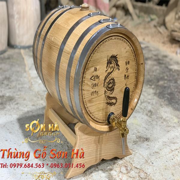 Giới thiệu về sản phẩm thùng gỗ Sồi Nga 20L